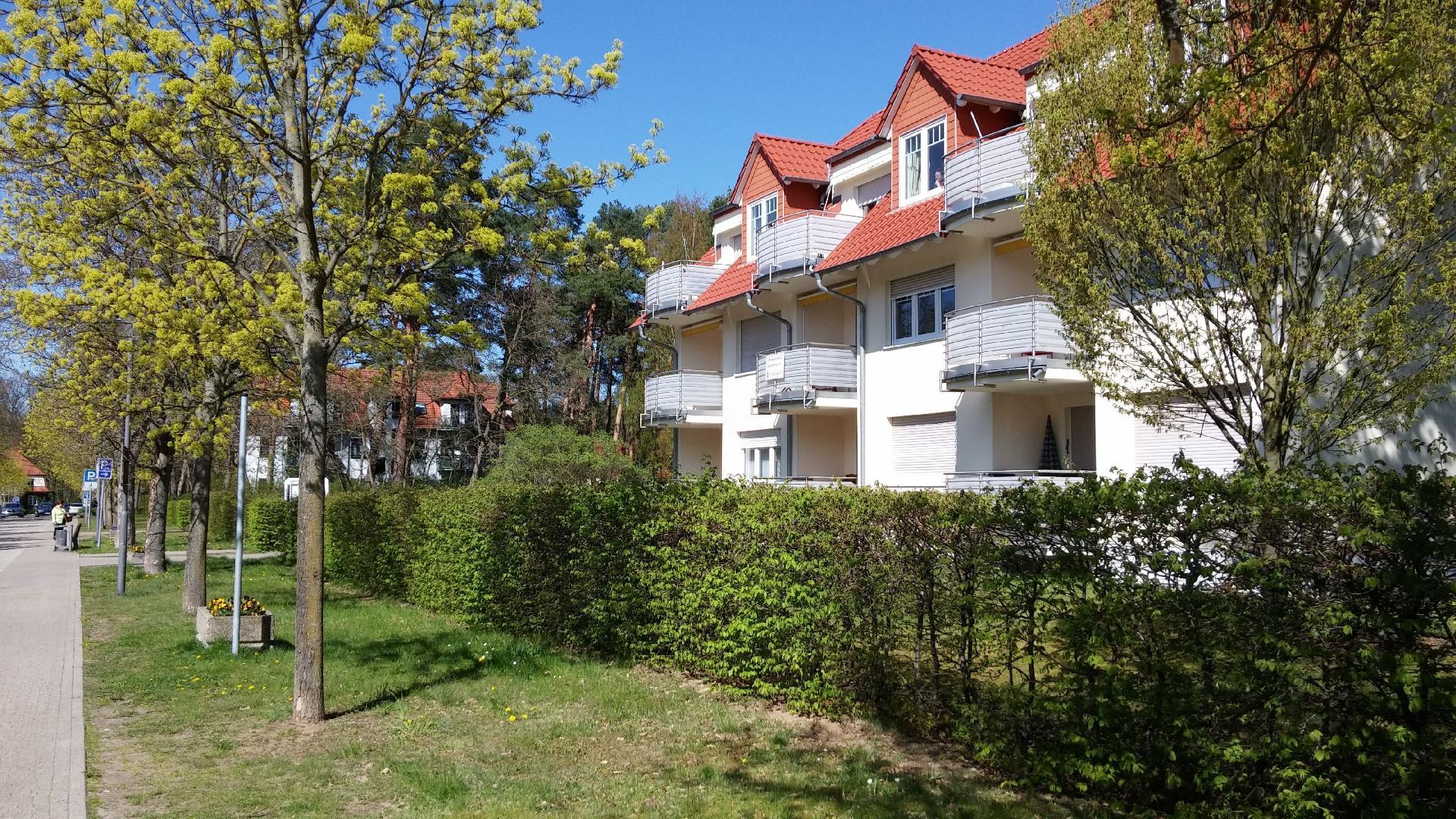 Ferienwohnung mit Balkon für drei Personen   Brandenburg