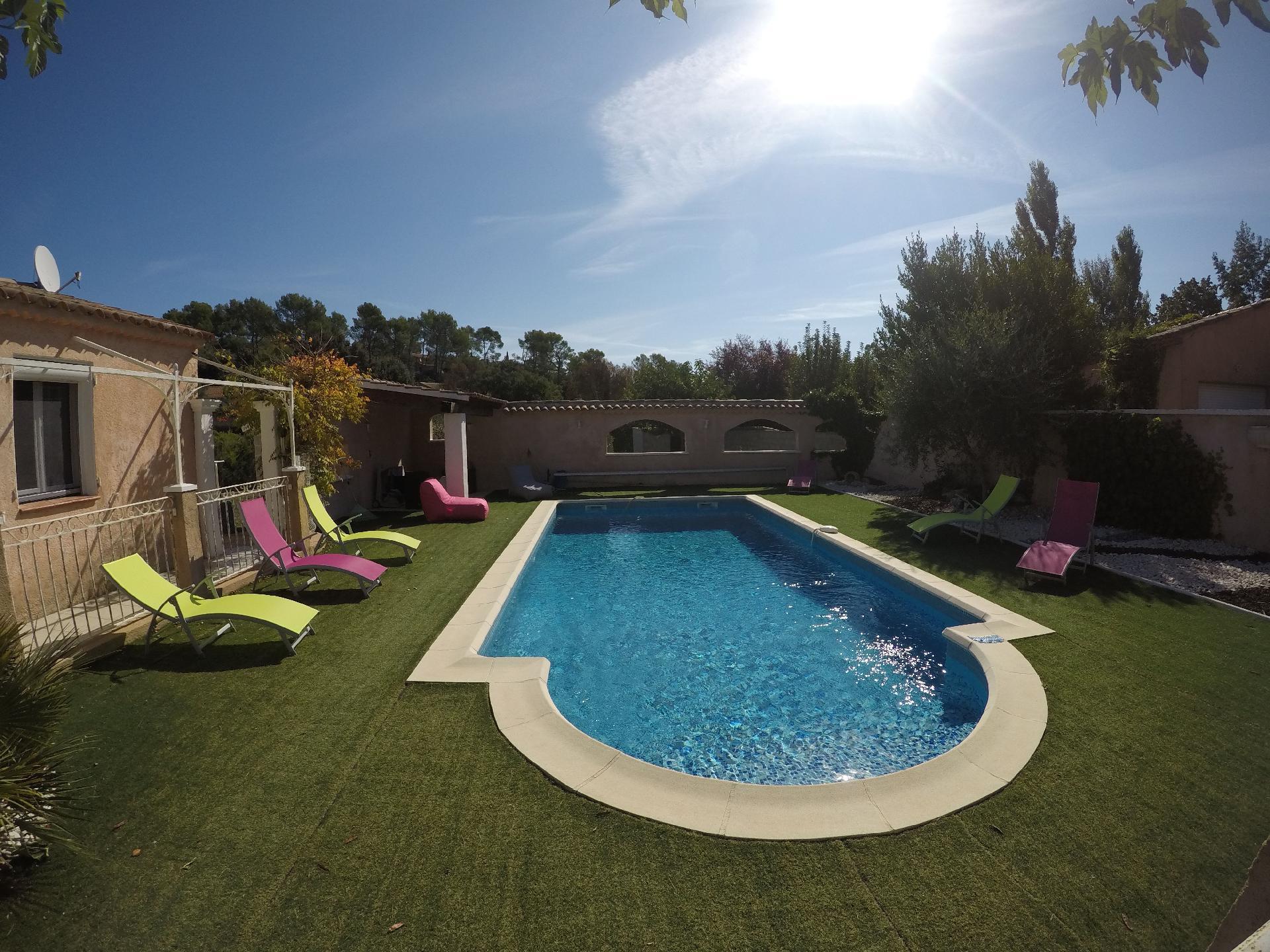 Ferienhaus mit Privatpool für 8 Personen  + 1  in Frankreich