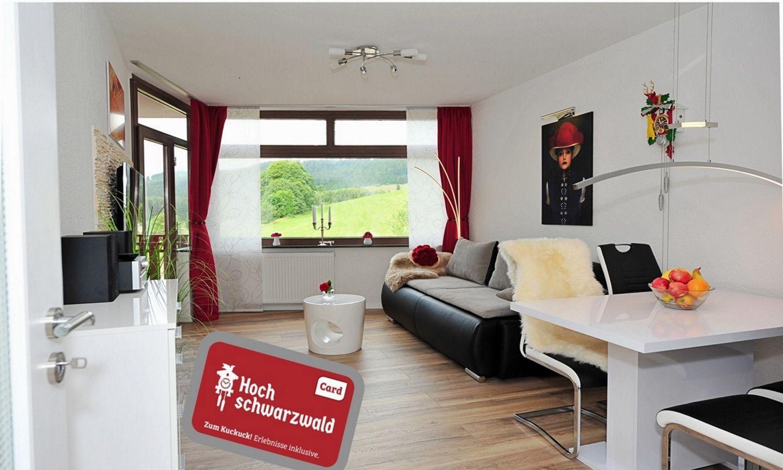 Ferienwohnung für 4 Personen ca. 45 m² i   Schwarzwald