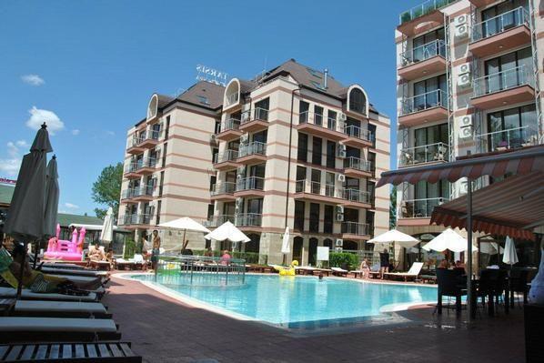 TARSIS IIA Ferienwohnung 1, Sonnenstrand - 1 Schla  in Bulgarien