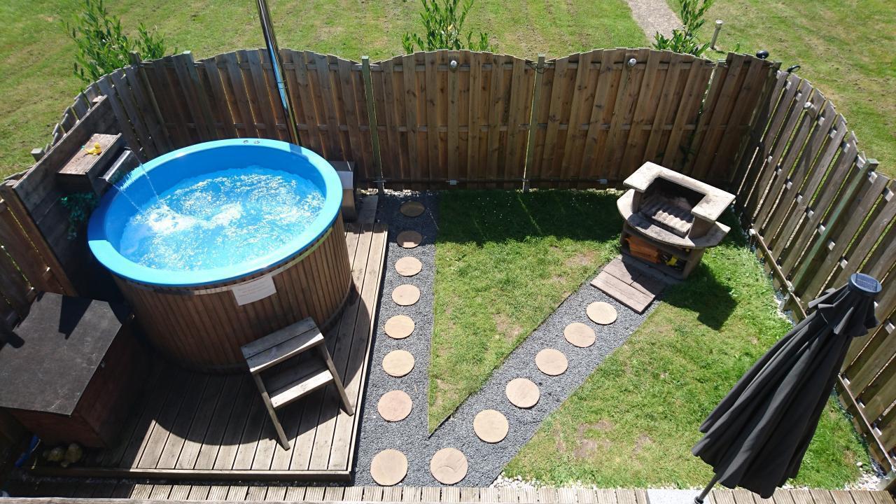 Ferienwohnung - eigener Pool - bis zu 5 Personen -  in Hessen