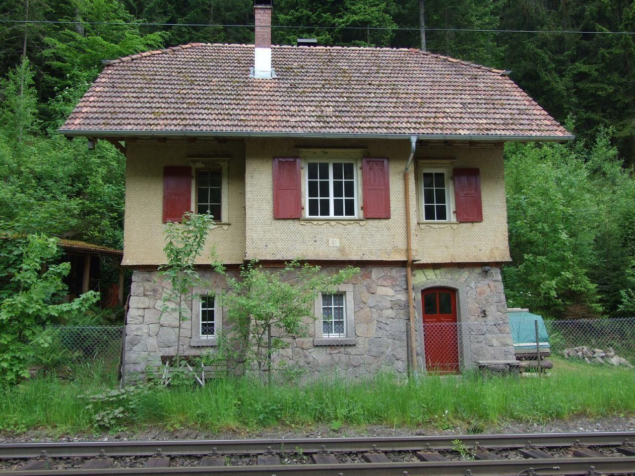 Historisches Bahnwärterhaus von 1873 - Ferien
