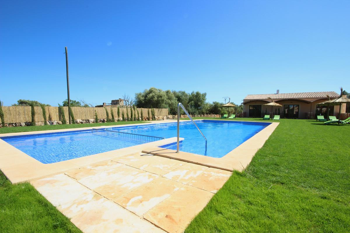 Apartament mit Pool - Es Trenc - Finca Can Angel - Ferienpark