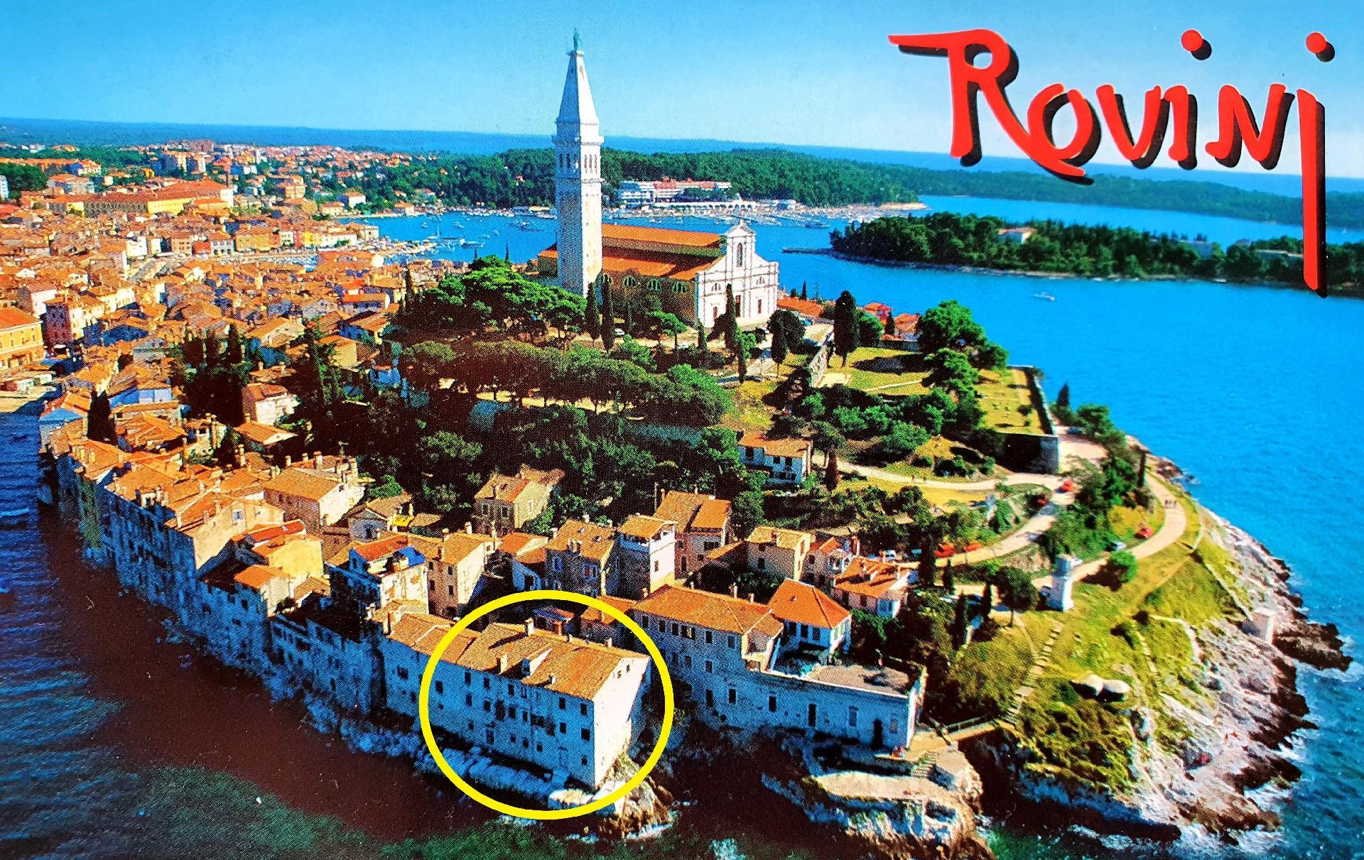 FEWO 8 in ROVINJ direkt am Meer  in Kroatien