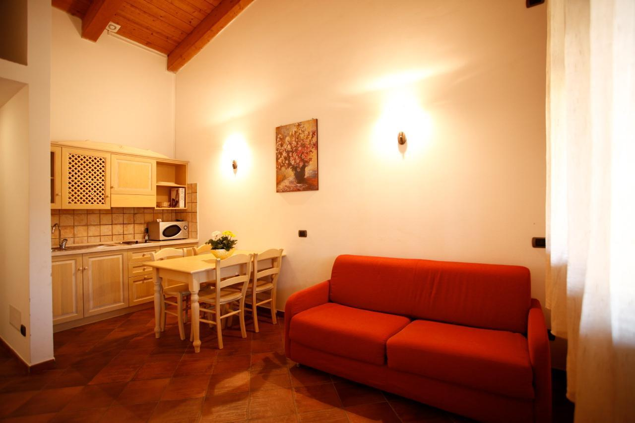 Two rooms apartment type A, a few km from the sea