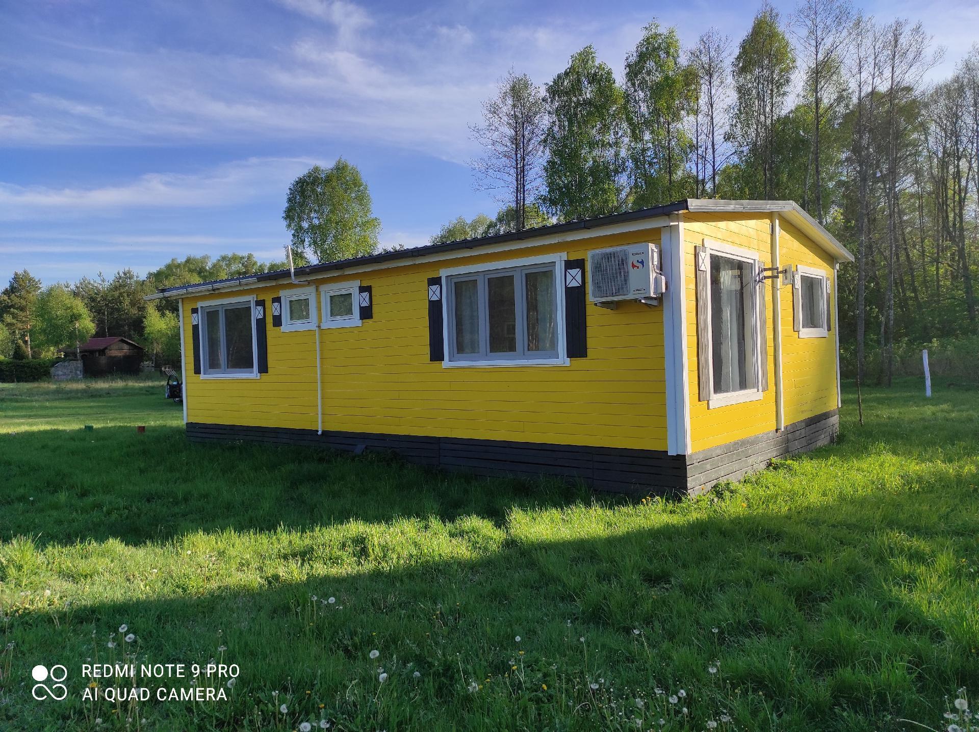 gelbes Haus  in Polen