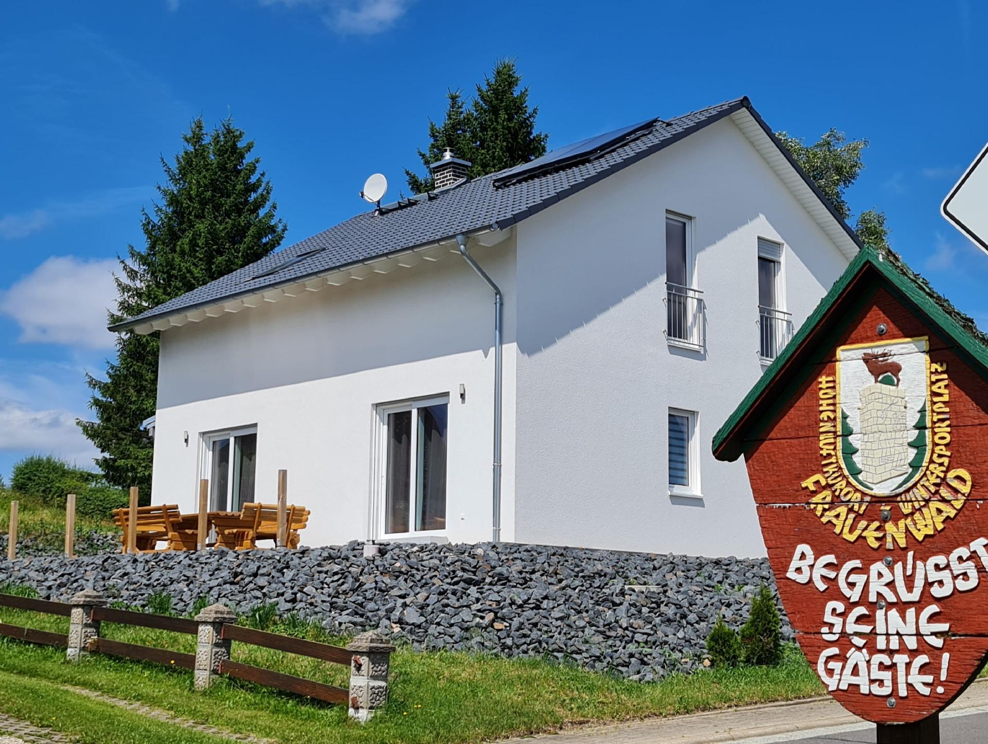 Ferienhaus Victoria - mit Kamin in Frauenwald am R  in Thüringen