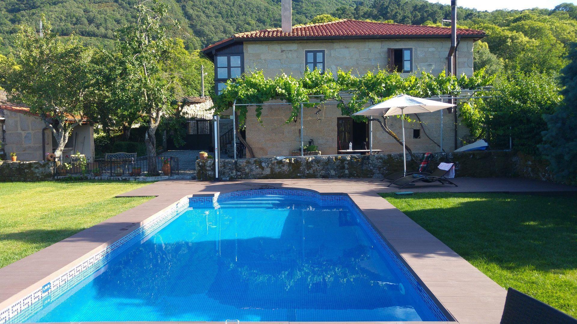 Ferienhaus mit Privatpool für 4 Personen  + 1 Bauernhof in Spanien