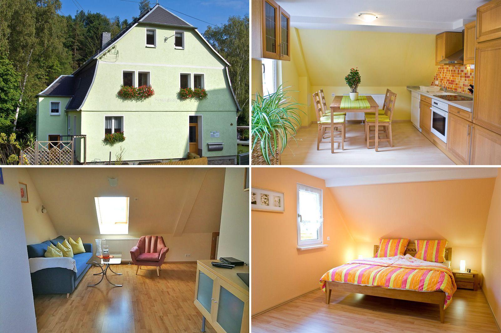 Ferienwohnung für 4 Personen ca. 50 m² i   Erzgebirge