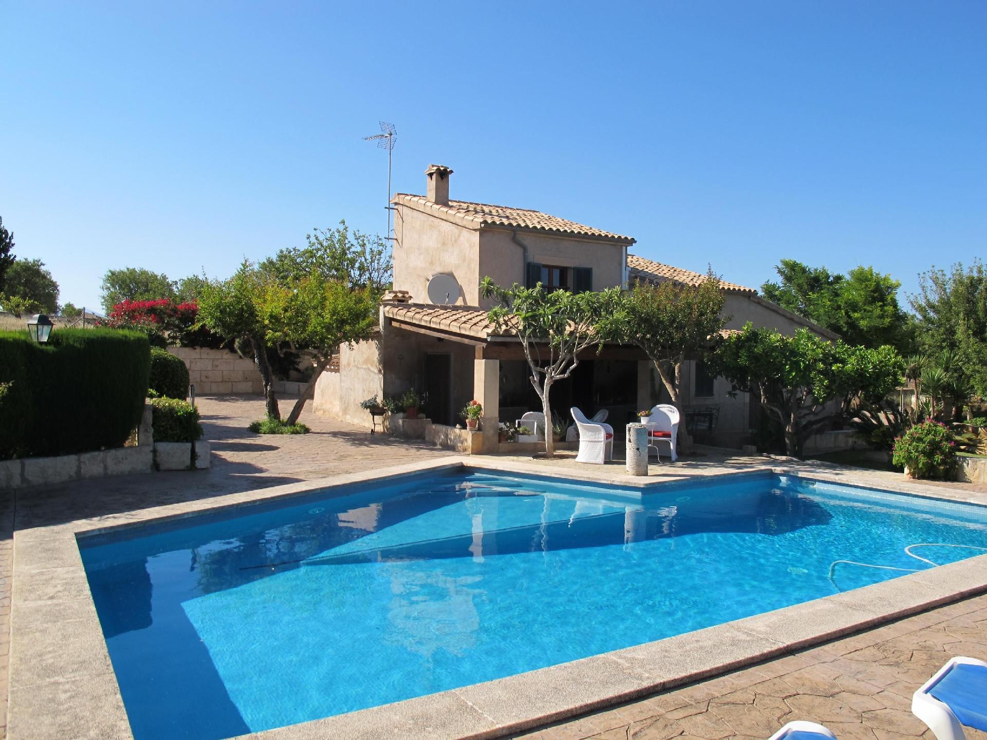 Ferienhaus mit Privatpool für 7 Personen ca.  Bauernhof in Spanien